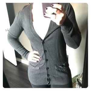 Dark Gray Cardigan